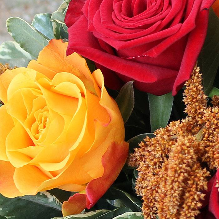 фото 2: Корзина с розами