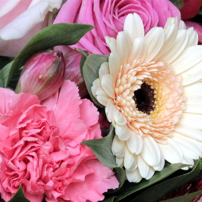 фото 2: Букет розово-кремовый