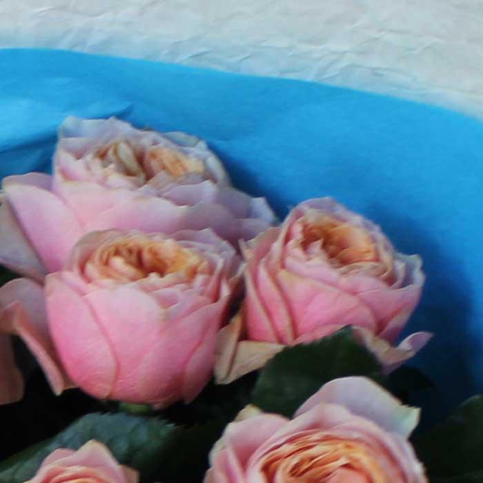 фото 3: Букет из пионовидных роз